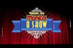 Teatro: Show musical Turma da Mônica realizado dia 16.08.2015