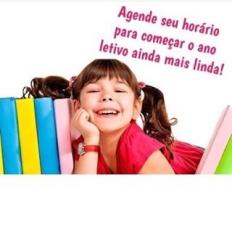 Antecipe-se e escolha o melhor horário para seu(ua) filho(a) começar o ano escolar ainda mais lindo(a)!!! . - Agendamentos: www.pirralhos.com.br - Apl