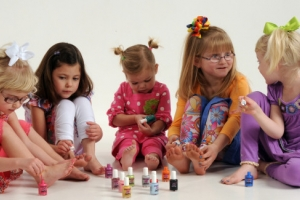 Refletindo sobre esmaltes infantis