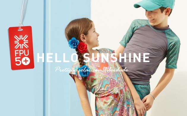 Proteção Solar para as crianças